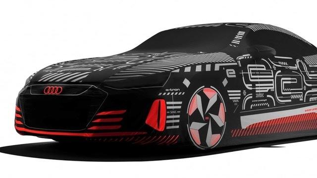 モフラージュアウディE-TronGTカーカバー2 2021-8-29