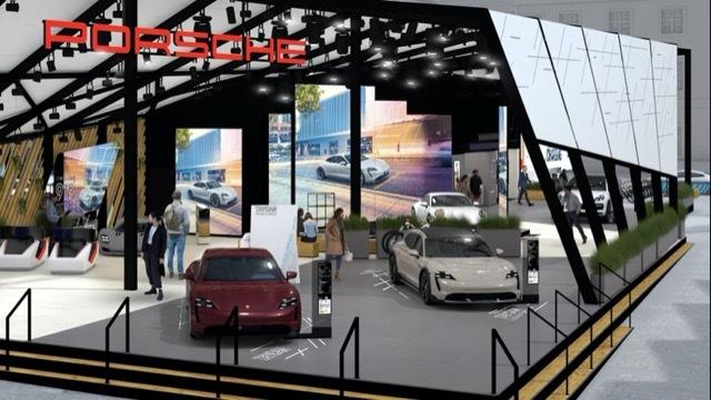 ポルシェ新型EVコンセプト2 2021-9-4