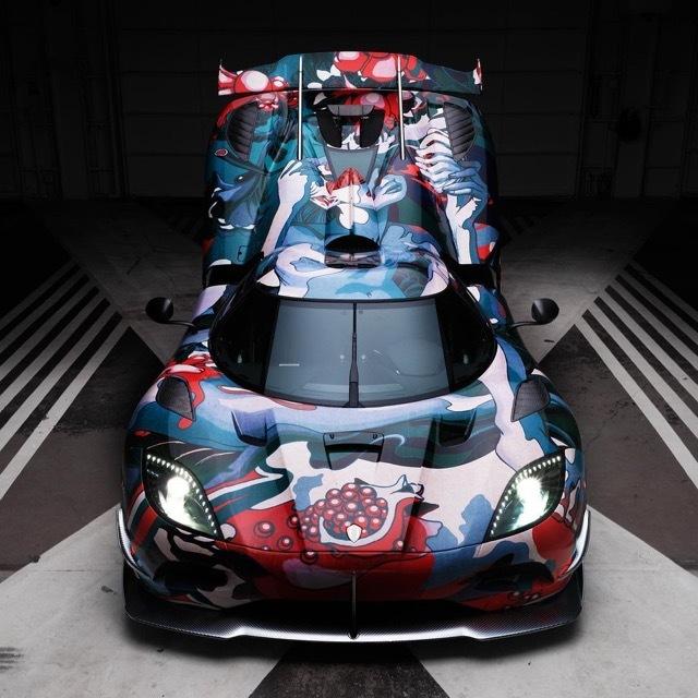 Koenigsegg x James Jean x Ruthie4 2021-9-8