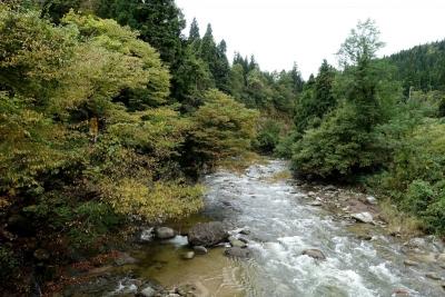 朝日川渓谷
