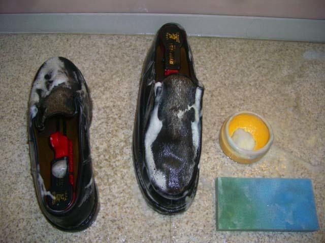 【丸洗い】パラブーツ ミカエル フォックを熱湯で洗った|Paraboot 革靴 サドルソープ 丸洗い