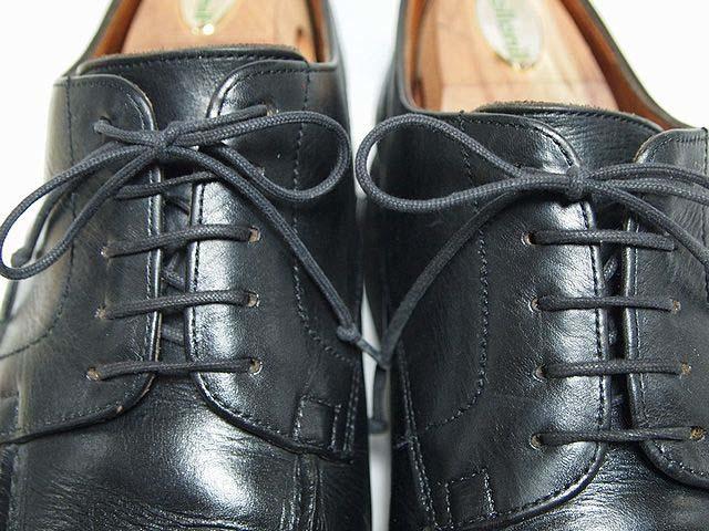 【考察】革靴の羽根の開き具合考|閉じても開き過ぎてもダメ