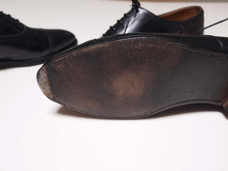 ひび割れさせない革靴の洗い方クロケット丸洗い3