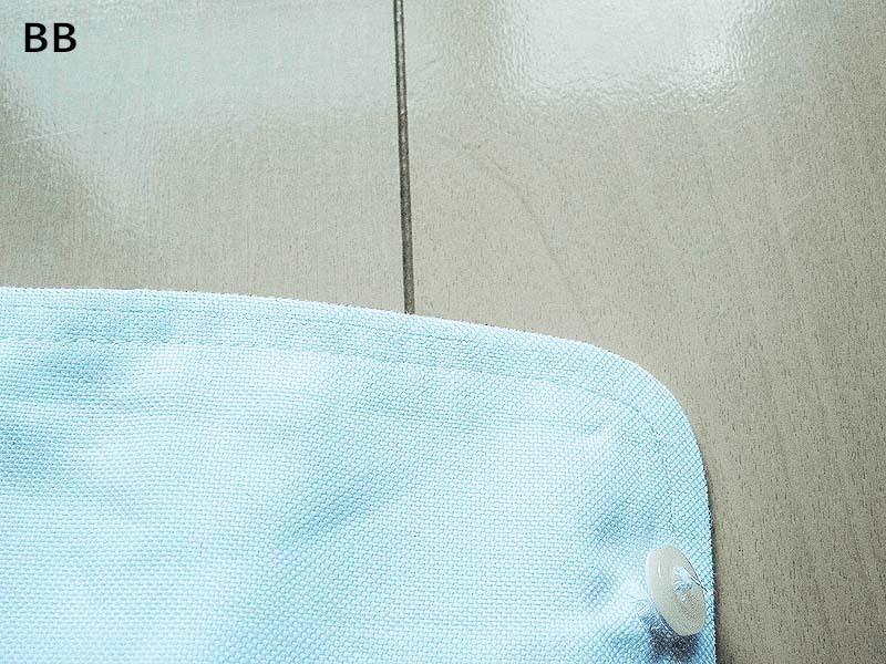 [修理後]ブルックスブラザーズボタンダウンシャツ_袖2