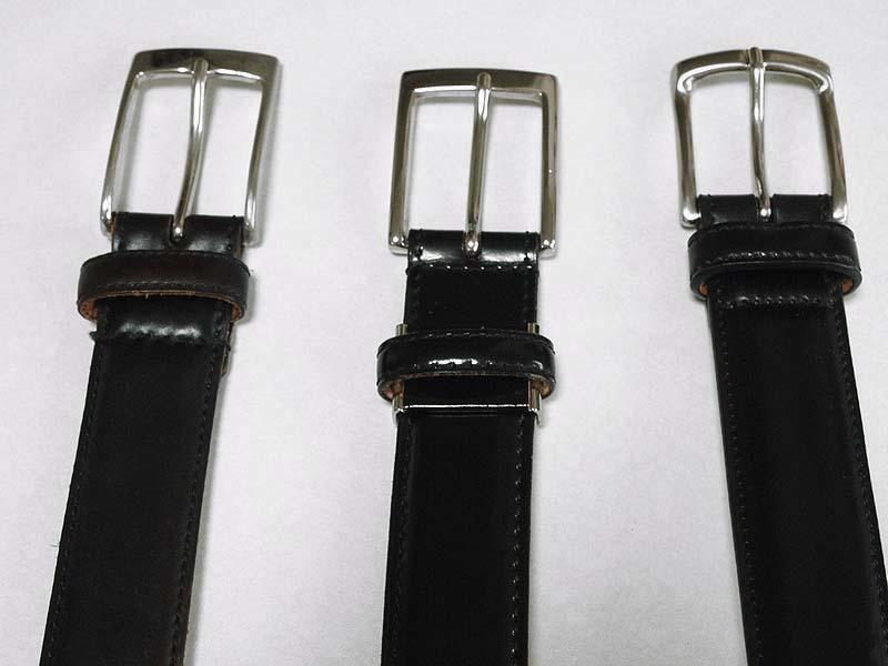 【買ったモノ】KTルイストンコードバンレイヤーベルト KTB-039|3本目のコードバンのベルトを購入
