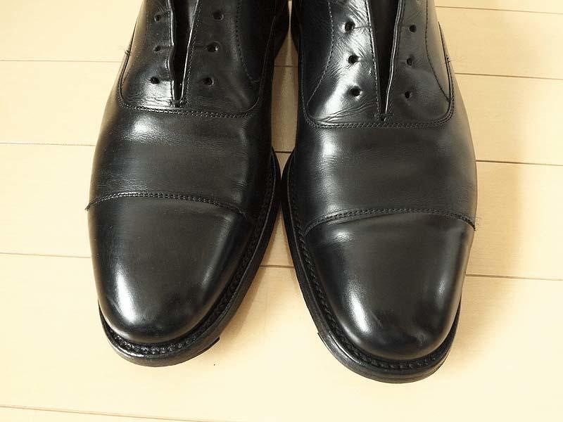 ④靴磨き手順_あかすり後