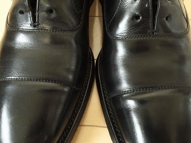 靴磨き手順_クリーム後