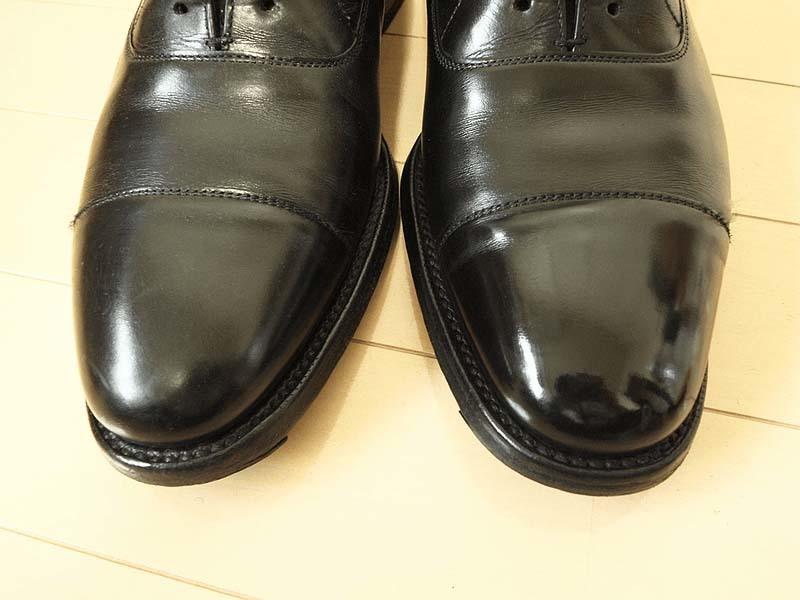 靴磨き手順_鏡面磨き後