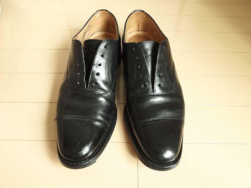 靴磨き手順1