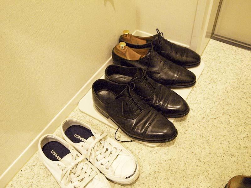 【置くだけ簡単】珪藻土バスマットで濡れた革靴のソールのカビ対策