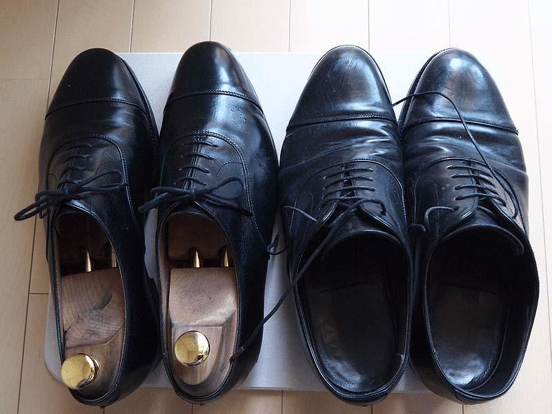 革靴梅雨対策5