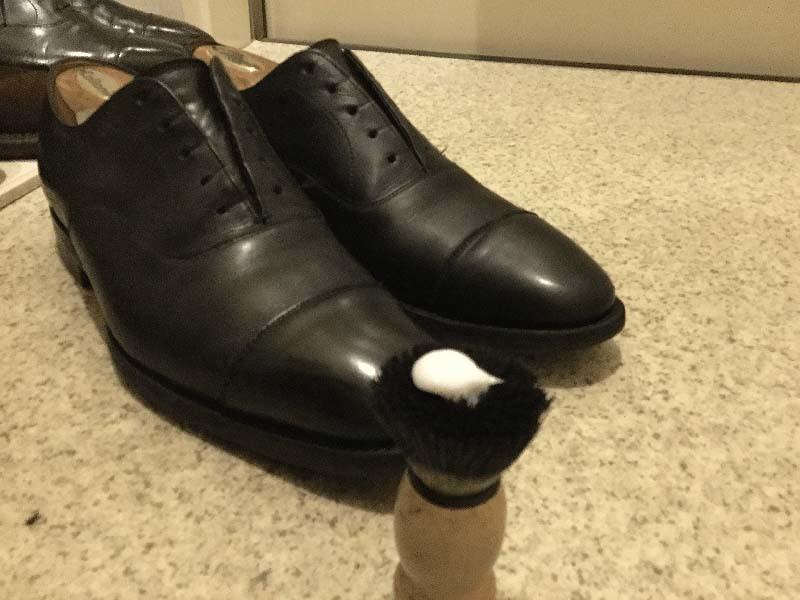 革靴丸洗いケルヒャー12