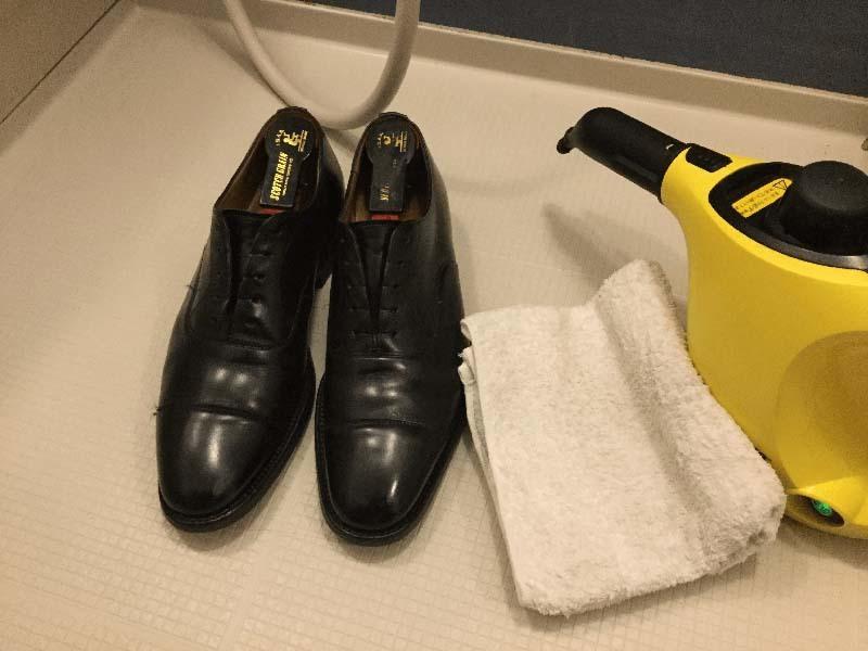革靴丸洗いケルヒャー2
