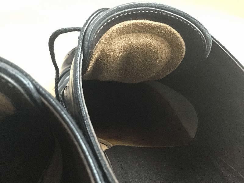 タンパッドで革靴のサイズ調整2