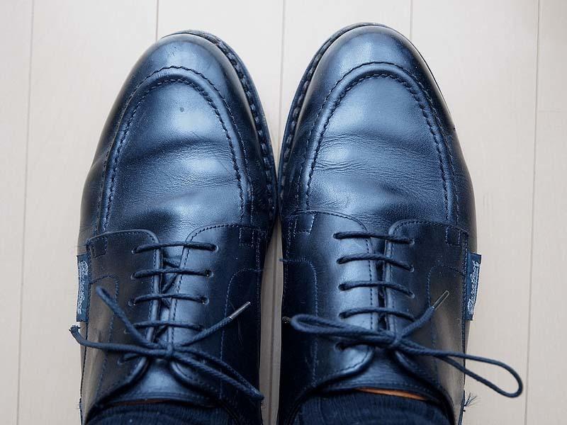 タンパッドで革靴のサイズ調整5