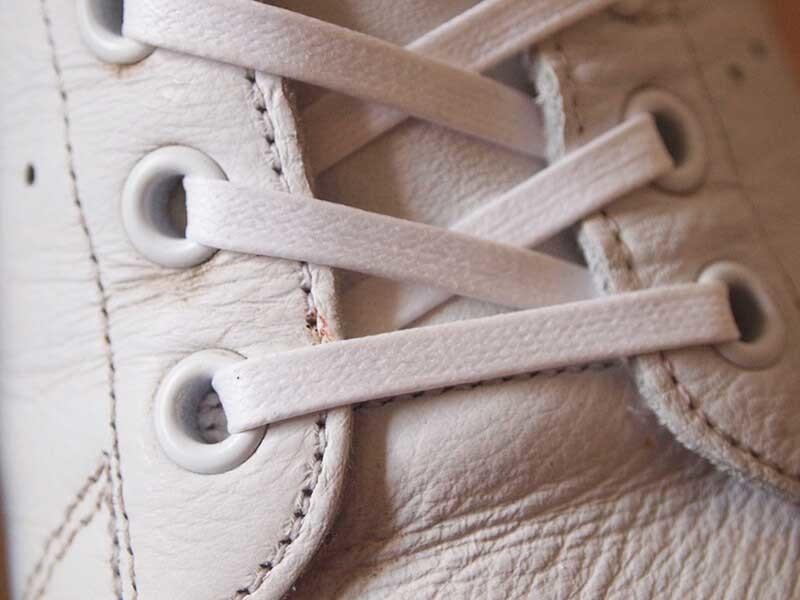 アディダス_スタンスミス靴紐交換5