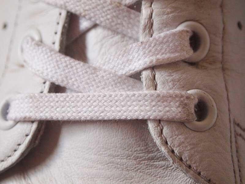 アディダス_スタンスミス靴紐交換4