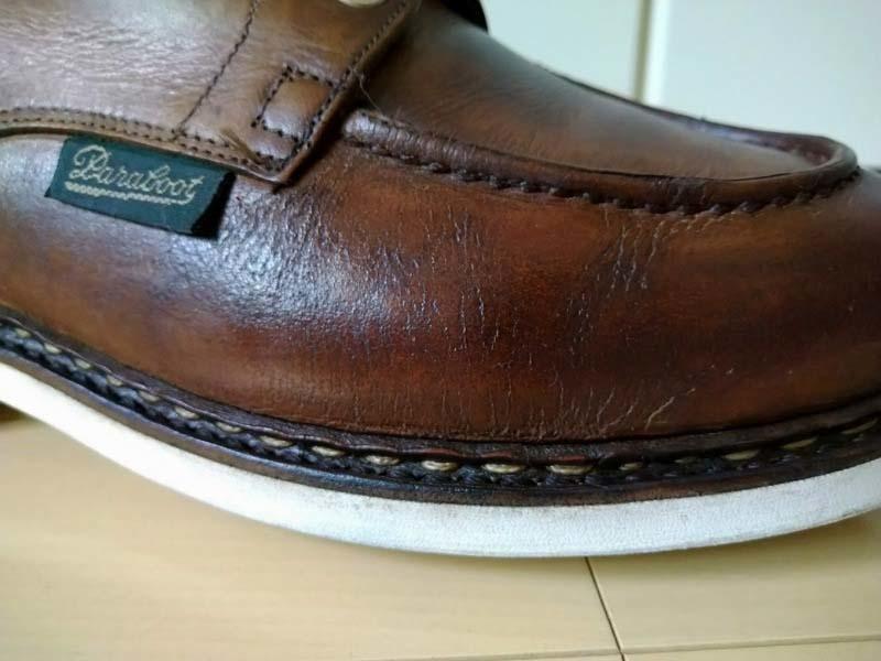 革靴写真_ひび割れ_シャンボード2