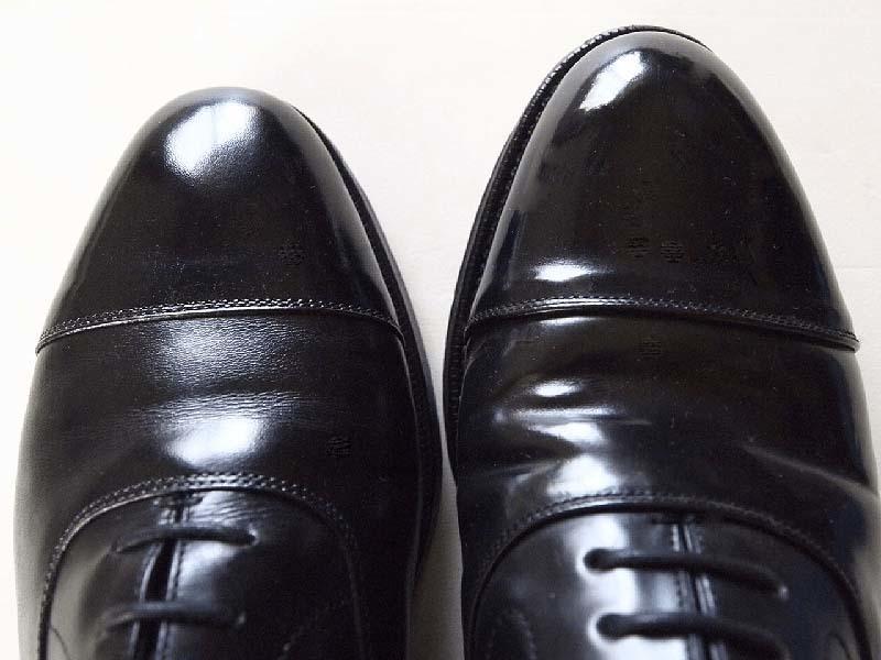 クロケット&ジョーンズコードバン靴&宮城興業コードバン靴