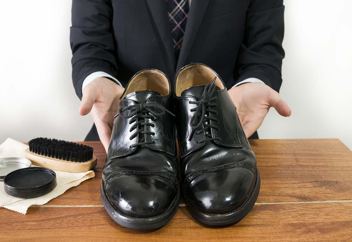 筋トレと靴磨き3