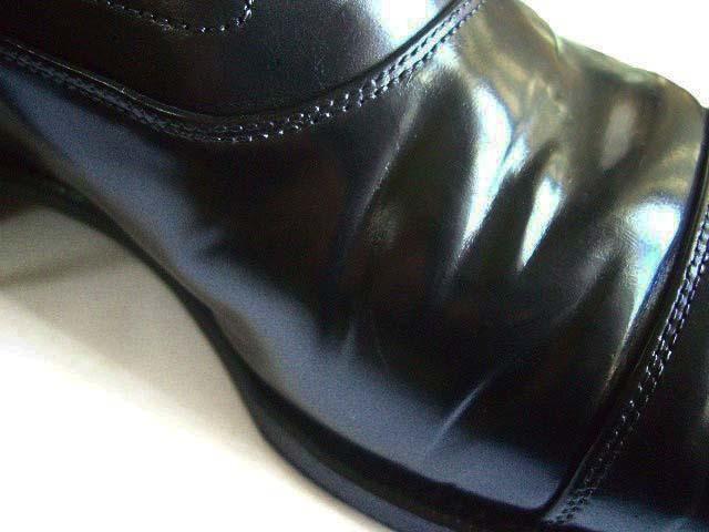 【メンテナンス】コードバン靴の皺入れに失敗」-リセットはできるのか?