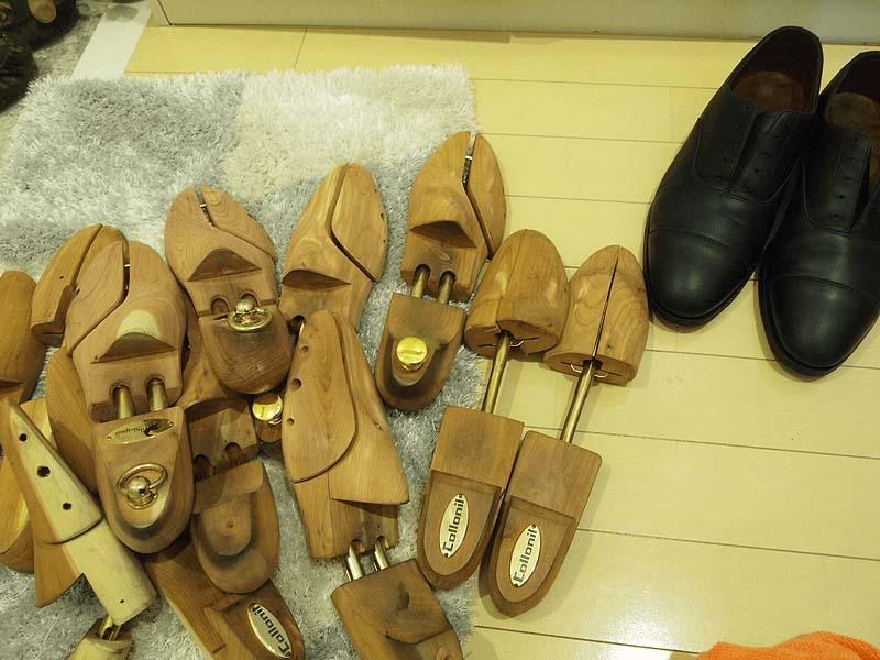 革靴の丸洗い_カビ対策