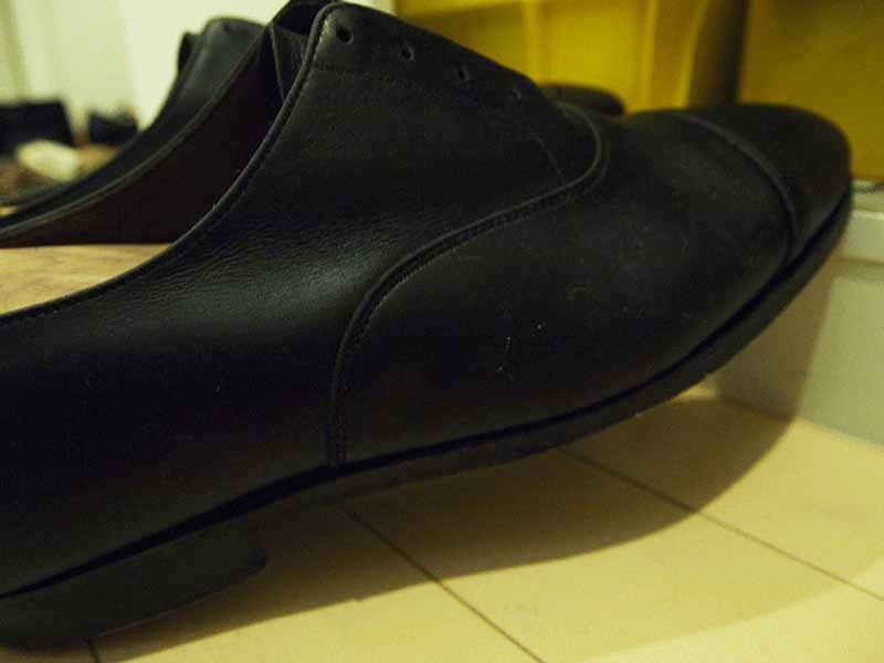 革靴の丸洗い_カビ対策2