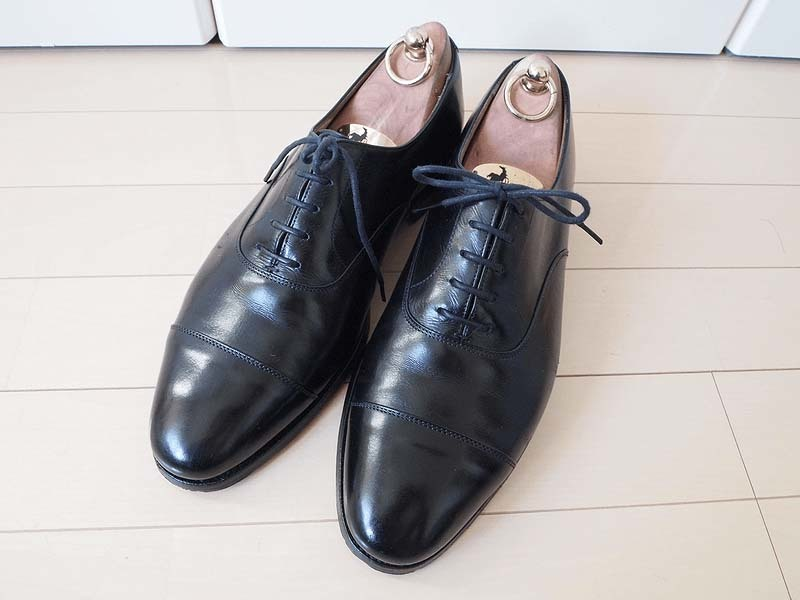 革靴の丸洗い