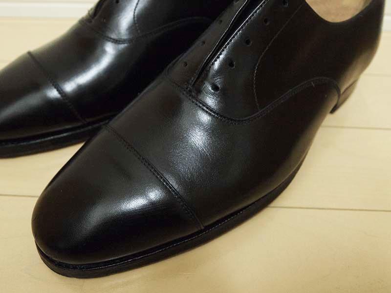 革靴の丸洗い_通常の手入れ2