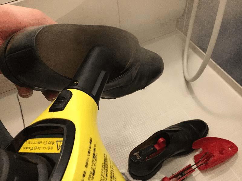 IMG_革靴丸洗いケルヒャー10
