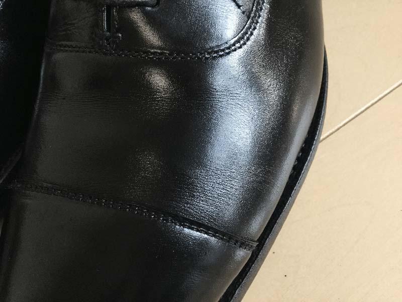 スチームで革靴丸洗い_全工程終了後_4