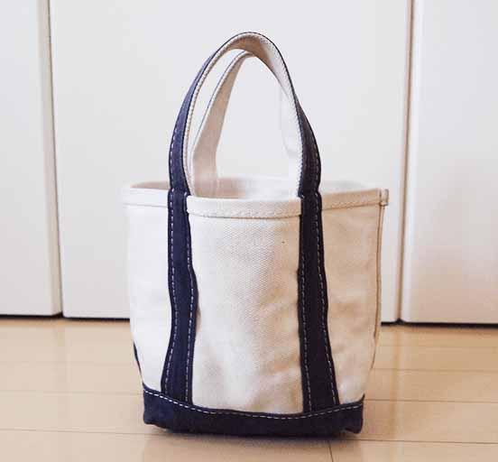 【ニュース】L.L.Beanのトートバッグのミニサイズが通販で購入可能に