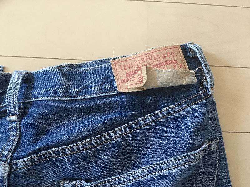 【エイジング】ついに紙パッチ、取れる|Levi's®(リーバイス) LVC 50155-0116穿き込み 43