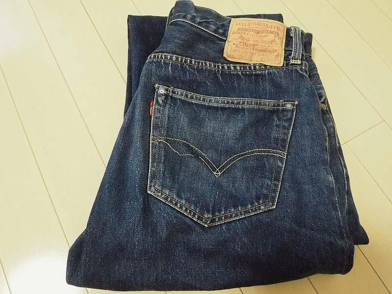 普通に穿いて普通に洗濯 Part.3|Levi's®(リーバイス) LVC 50155-0116穿き込み 37