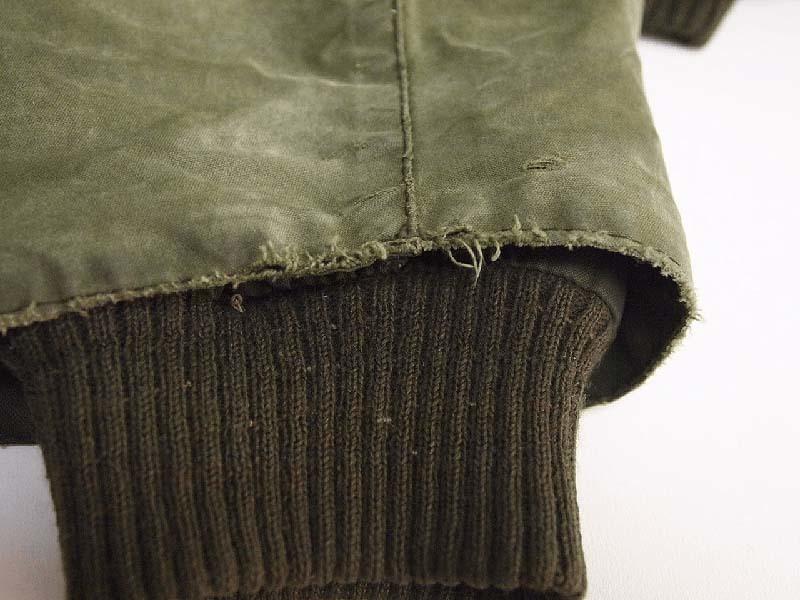 Barbour®ビデイルの袖(5年間使用)