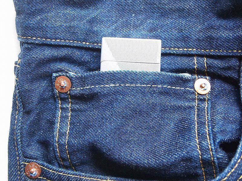 コインポケットにアタリlvc穿き込み2