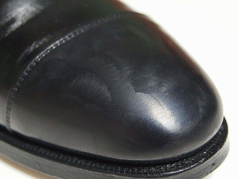 靴磨き_鏡面磨き