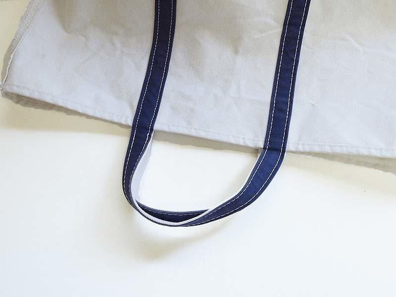 L.L.Beanのトートバッグのカスタム 3