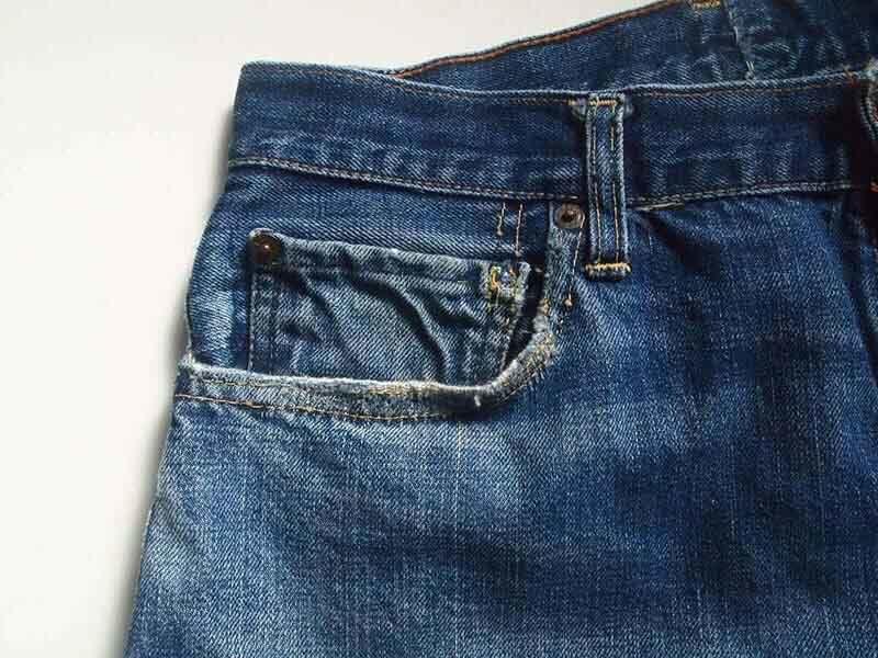 リゾルトのコインポケットの稲妻に憧れて|Levi's®(リーバイス) LVC 50155-0116穿き込み 26