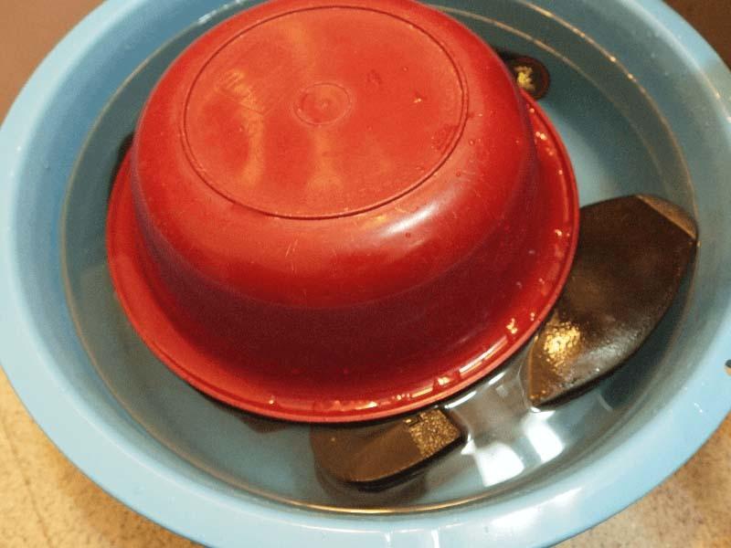 革靴の丸洗い手順2