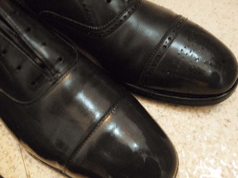ひび割れさせない革靴の洗い方手順5-3