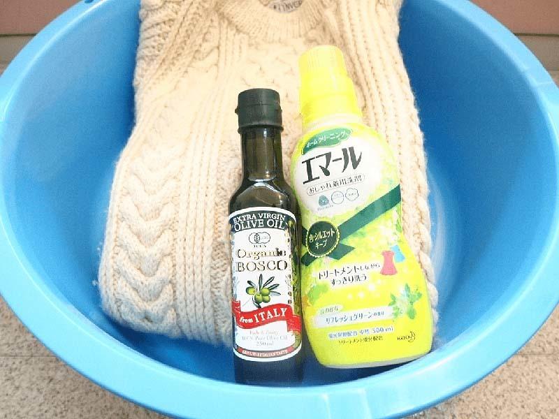 インバーアランのウールセーターを洗濯 |賢い男は自分で洗う