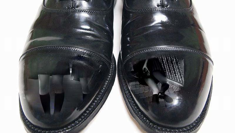 筋トレと靴磨き6