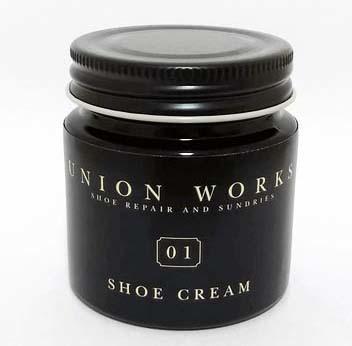 ユニオンワークス オリジナル 「UNION SHOECREAM」 レビュー|オススメの黒靴クリーム