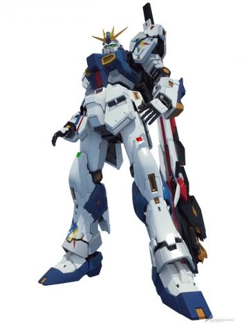 実物大ガンダム立像「RX-93ffν ガンダム」3