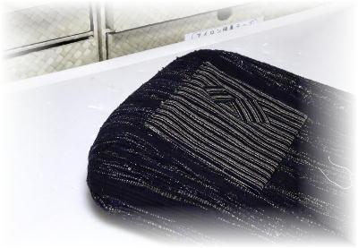裂き織りバッグ16