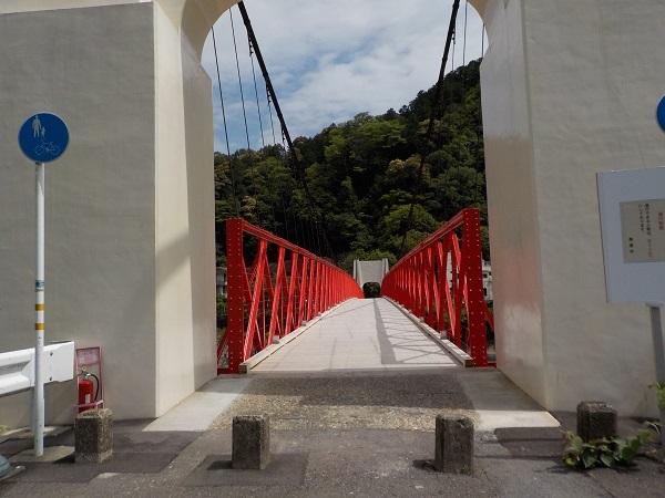 旧美濃橋修復完了