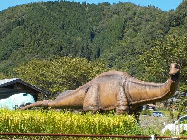 郡上ラボの恐竜
