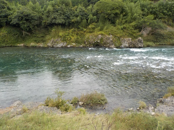この日の釣り場1