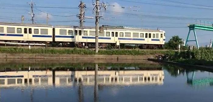 水鏡415系電車
